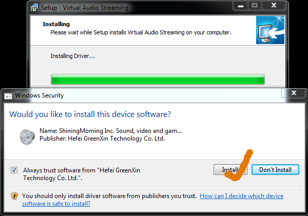 driver windows 7 sound
